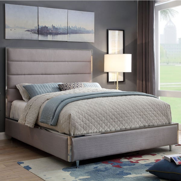 Sites Like Overstock For Furniture: Shop Furniture Of America Sena Contemporary Tufted Linen
