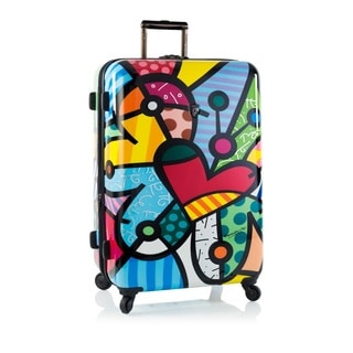 Heys Britto Butterfly Love 30-inch Hardside Spinner Upright Suitcase