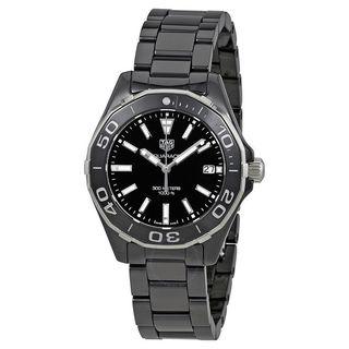 Tag Heuer Men's WAY1390.BH0716 'Aquaracer' Black Ceramic Watch