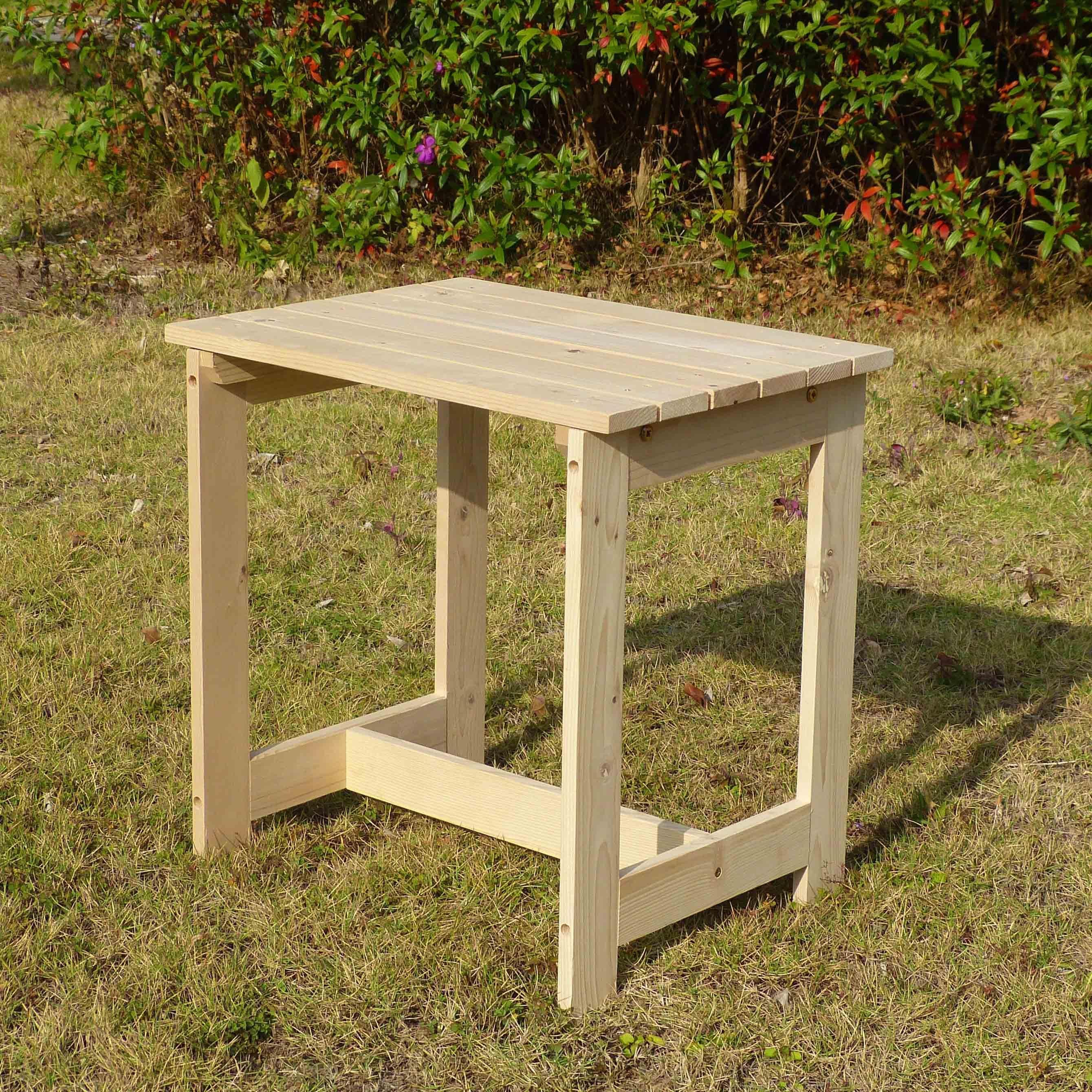 Merry Products Utility Side Table Kit (Natural), Patio Fu...
