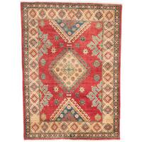 Ecarpetgallery Hand-knotted Finest Gazni Red Wool Rug (4'10 x 6'8)