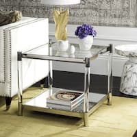 Safavieh Couture High Line Collection Shayla Acrylic Silver Accent Table
