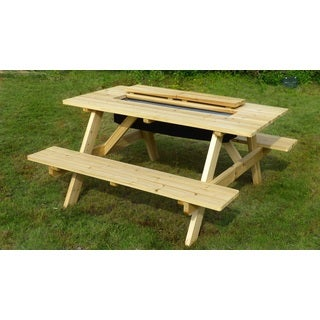 Merry Products Cooler Picnic Table