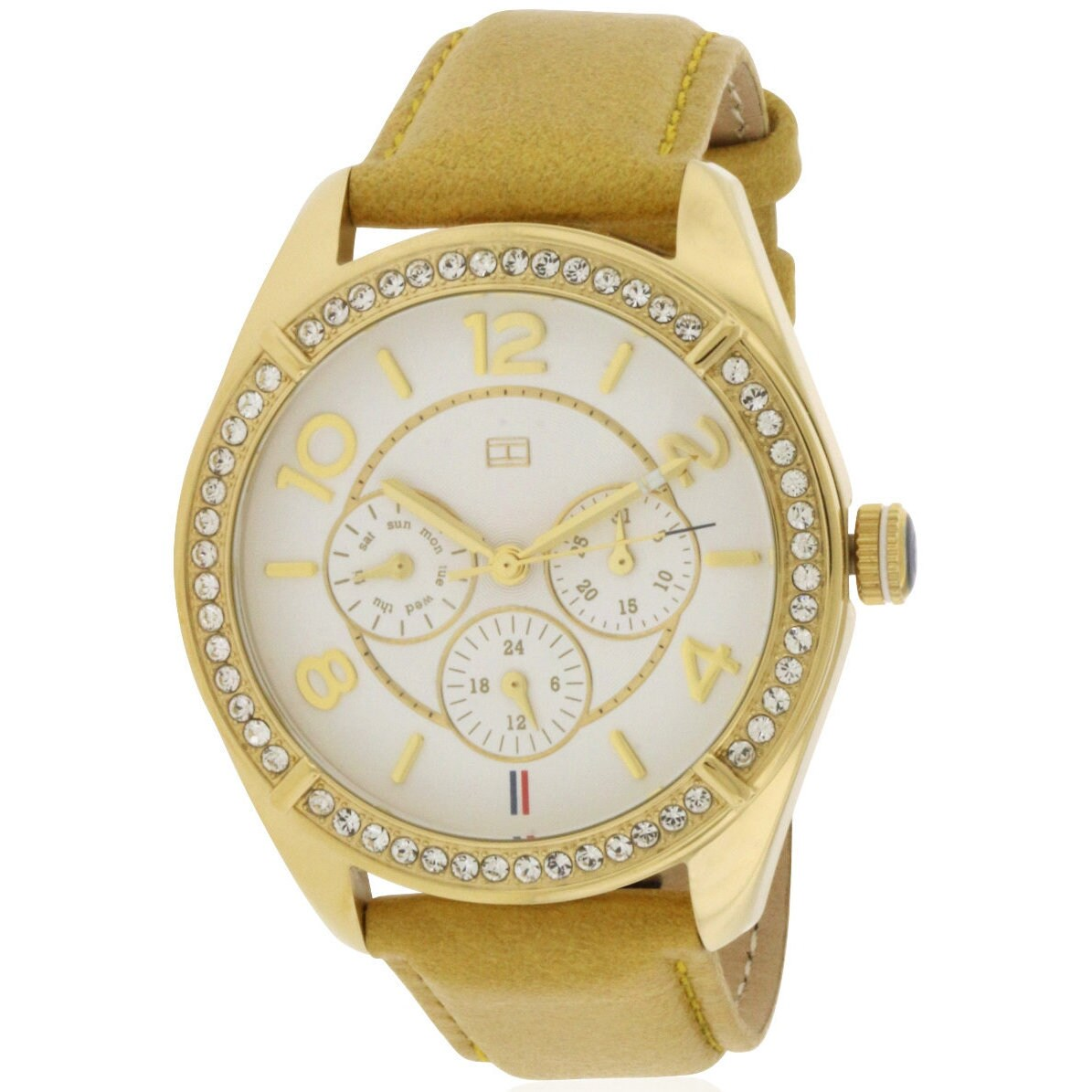 Tommy Hilfiger Ladies' 1781250 Gracie Tan Leather Watch (...