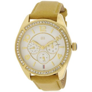 Tommy Hilfiger Ladies' Gracie Tan Leather Watch