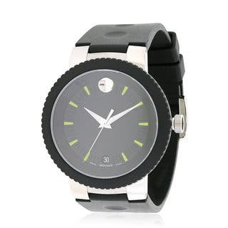 Movado Men's 0606928 Sport Edge Rubber Strap Watch|https://ak1.ostkcdn.com/images/products/14595188/P21140133.jpg?impolicy=medium