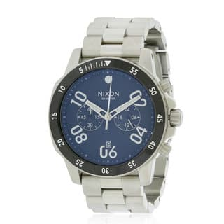 Nixon Men's A549000 Ranger 45 Stainless-steel Watch|https://ak1.ostkcdn.com/images/products/14595190/P21140135.jpg?impolicy=medium