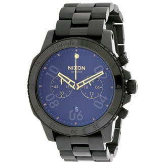 Nixon Ranger Men's A549010 Black Stainless Steel Chronograph Watch