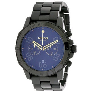 Nixon Ranger Men's A549010 Black Stainless Steel Chronograph Watch