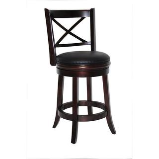 Georgia Swivel 24-inch Stool