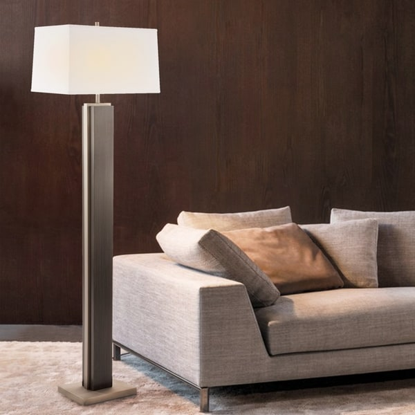 Bounded Charcoal Grey Floor Lamp
