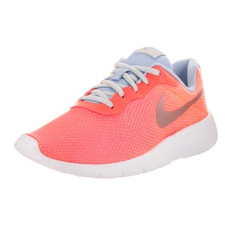Nike Kids Tanjun SE (GS) Pink Synthetic Leather Running Shoes