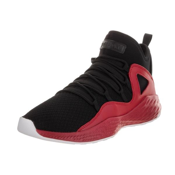 e6aa7b3d0763ff Nike Jordan Men  x27 s Jordan Formula 23 Black Synthetic Leather Basketball  Shoes