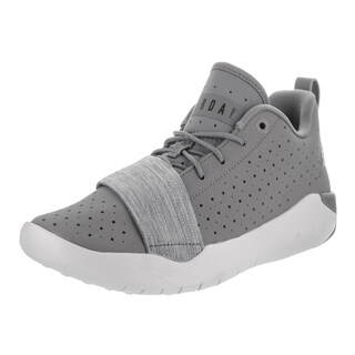 Nike Jordan Kids Jordan 23 Breakout Bg Grey Leather Basketball Shoes