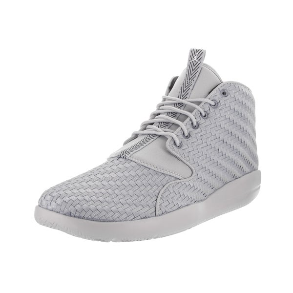 check out 7df64 1d309 Nike Jordan Men  x27 s Jordan Eclipse Chukka Grey Woven Textile Basketball  Shoes