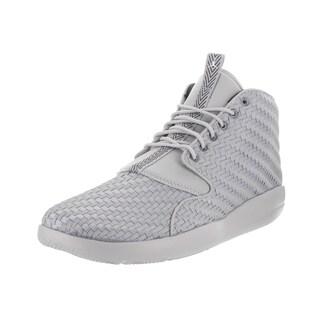 Nike Jordan Men's Jordan Eclipse Chukka Grey Woven Textile Basketball Shoes