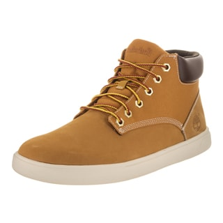 Timberland Men's Tan Leather Groveton Chukka Boot