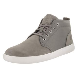 Timberland Men's Groveton Lttchk Leather Grey Boots