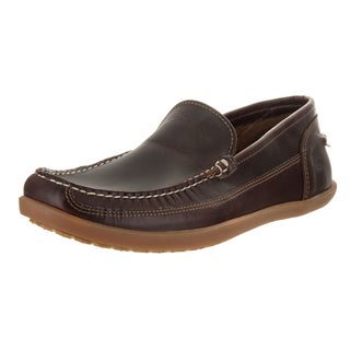 Timberland Men's Odelay Burgundy Leather Slip-on Casual Shoe
