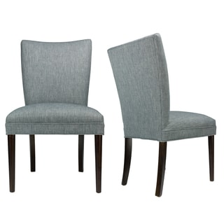 ALEX Key Largo Ash Espresso Legs Upholstered Dining Chair (Set of 2)