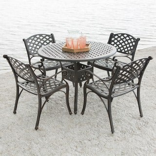 5-Piece Cast Aluminum Dining Set