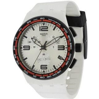 Swatch Men's SUSW405 'White Blades' Watch