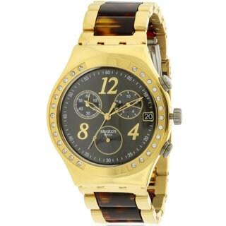 Swatch Women's Dreamnight Goldtone Watch