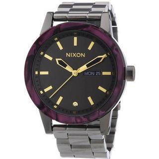 Nixon The Spur Gunmetal Velvet Women's Watch