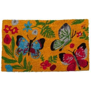 TAG Sunshine Butterfly Coir Mat