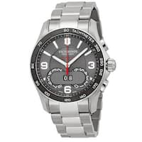 Swiss Army Victorinox Stainless Steel Chronograph Men's Watch
