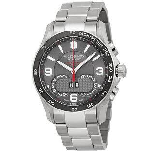 Swiss Army Victorinox Stainless Steel Chronograph Men's Watch