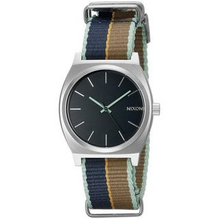 Nixon Time Teller Women's Cloth Watch