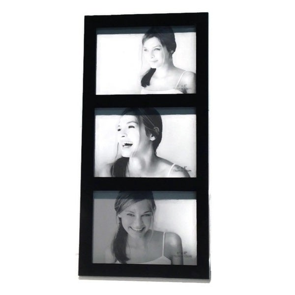 "Heim Concept Jessica Collage Photo Frame Triple Stacked 4x6"" Frame"