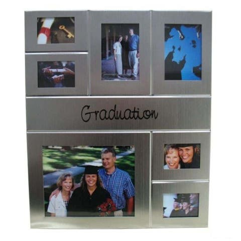 Heim Concept Graduation Collage Photo Frame - 7 Windows