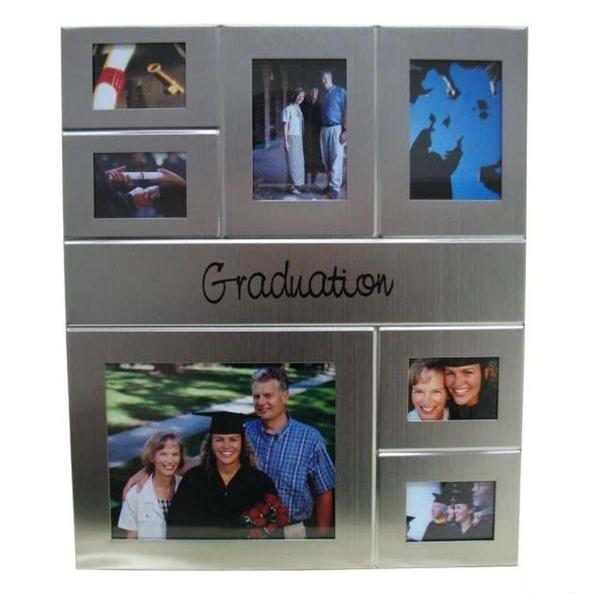 Heim Concept Graduation Collage Photo Frame - 7 Windows