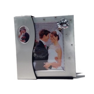 Heim Concept Wedding Photo Album and Frame in Holder