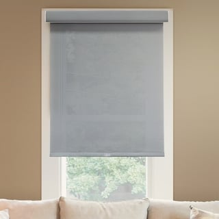 Chicology Deluxe Free-Stop Pebble Privacy Light-filtering Fabric Cordless Roller Shade