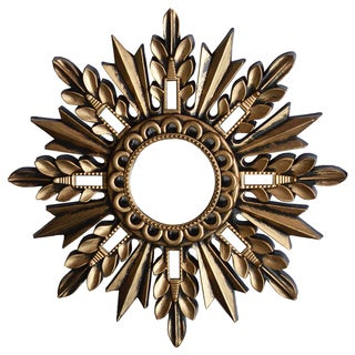 Wee's Beyond Sunburst Bronze 10-inch Wall Mirror