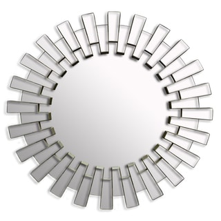 19.7-inch Decorative Contemporary Sunburst Wall Mirror