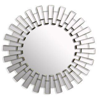 19.7-inch Decorative Contemporary Sunburst Wall Mirror