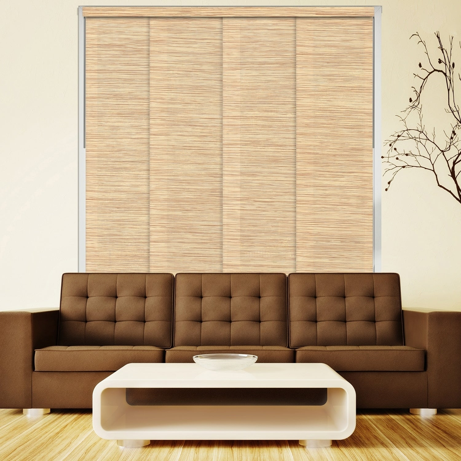 Chicology Nile Reed Deluxe Adjustable Sliding Panels (Pac...