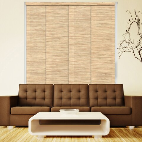 "Chicology Nile Reed Deluxe Adjustable Sliding Panels - up to 80""w x 96""h"