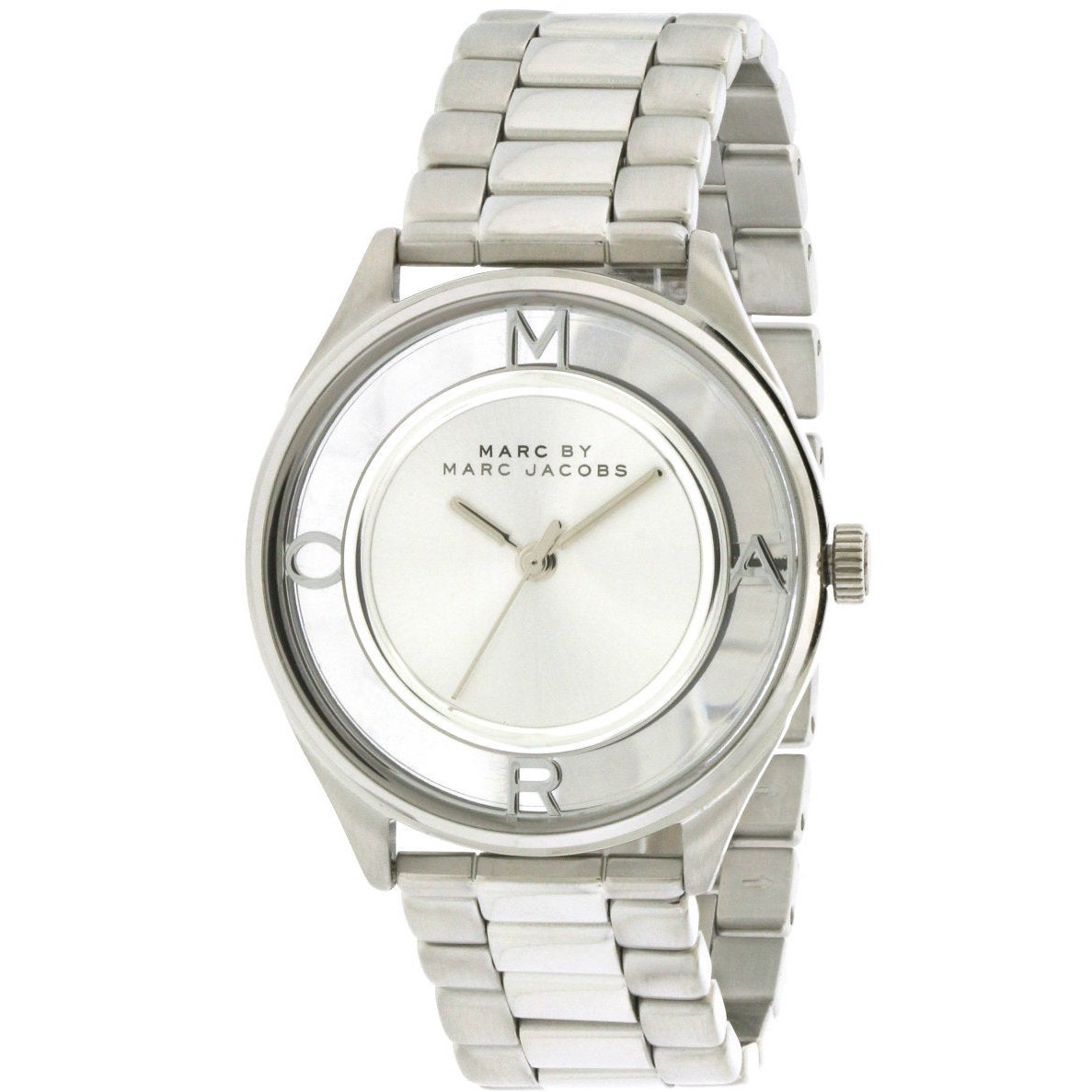Marc Jacobs Women's Tether MBM3412 Watch (Watch), Silver,...