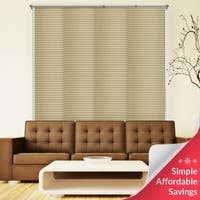 """Chicoloy Tahini Taupe Deluxe Adjustable Sliding Panels - up to 80""""w x 96""""h"""