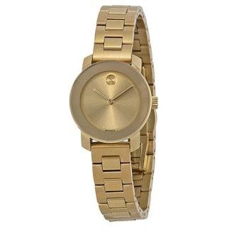 Movado Women's Goldtone Stainless Steel 3600235 Watch