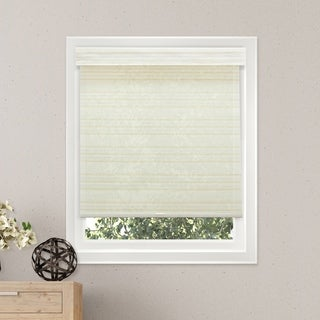 Chicology Cabana White Free-Stop Cordless Light Filtering Privacy Roller Shade