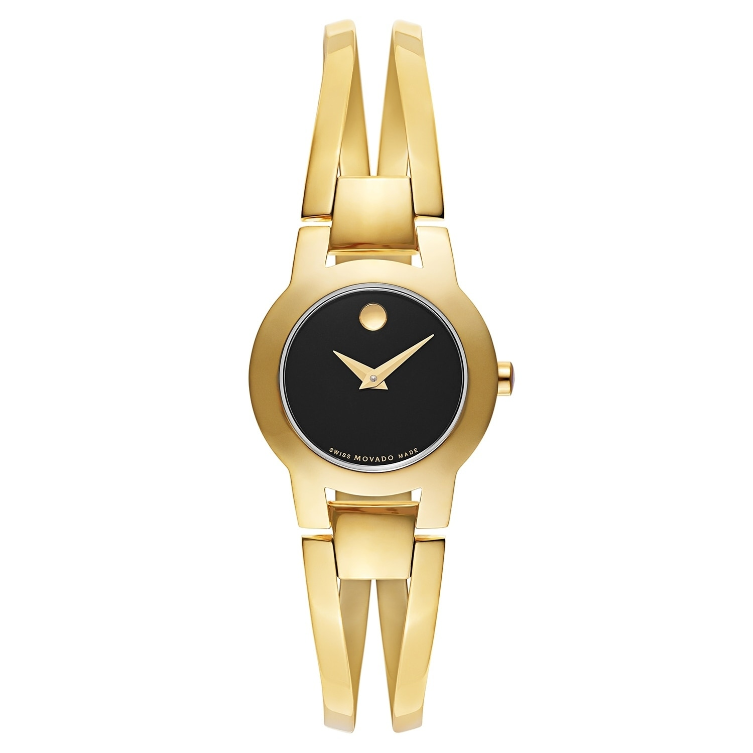Movado Women's 0606946 Amorosa Gold-Tone Stainless Steel ...
