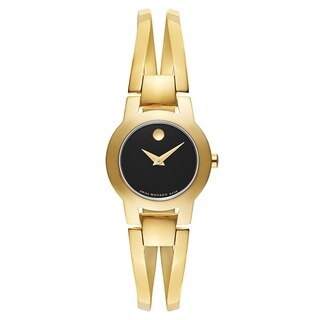 Movado Women's 0606946 Amorosa Gold-Tone Stainless Steel Watch