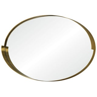 Varaluz Casa Echo 20 x 30 Oval Gold Mirror