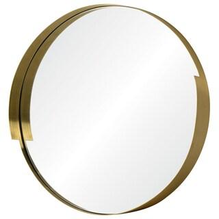Varaluz Casa Echo 20 x 20 Round Gold Mirror